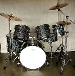 Black Pearl Drum Set